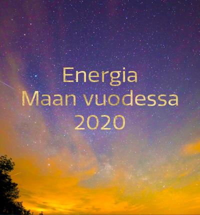 Energia Maan vuodessa