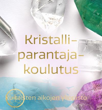 Kristalliparantajakoulutus