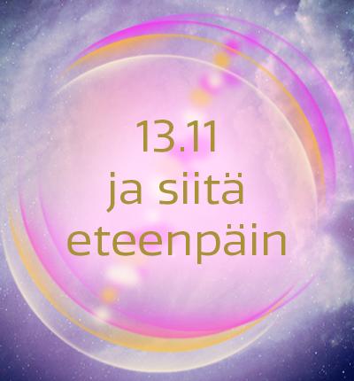 13.11 ja siitä eteenpäin